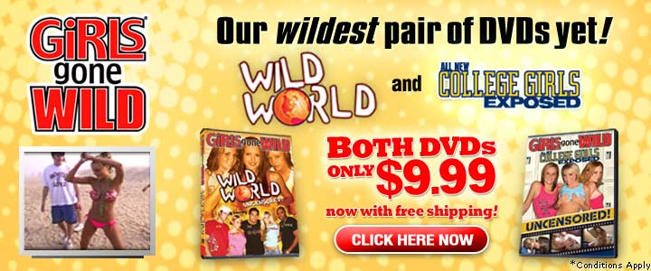 College Girls Exposes & Wild World DVDs